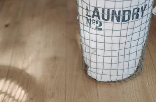 洗濯かごの画像