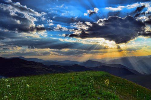 綺麗な空の画像