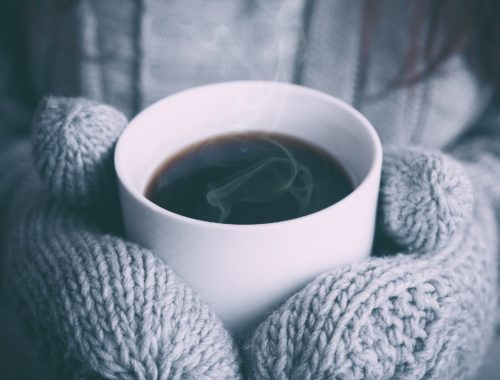 ミトンとコーヒー
