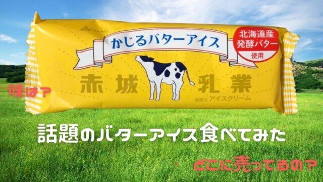 話題のバターアイス食べてみた【味は?どこで売ってるの?】